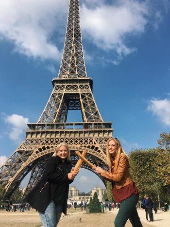 Paris, Eiffel Tower, tourist