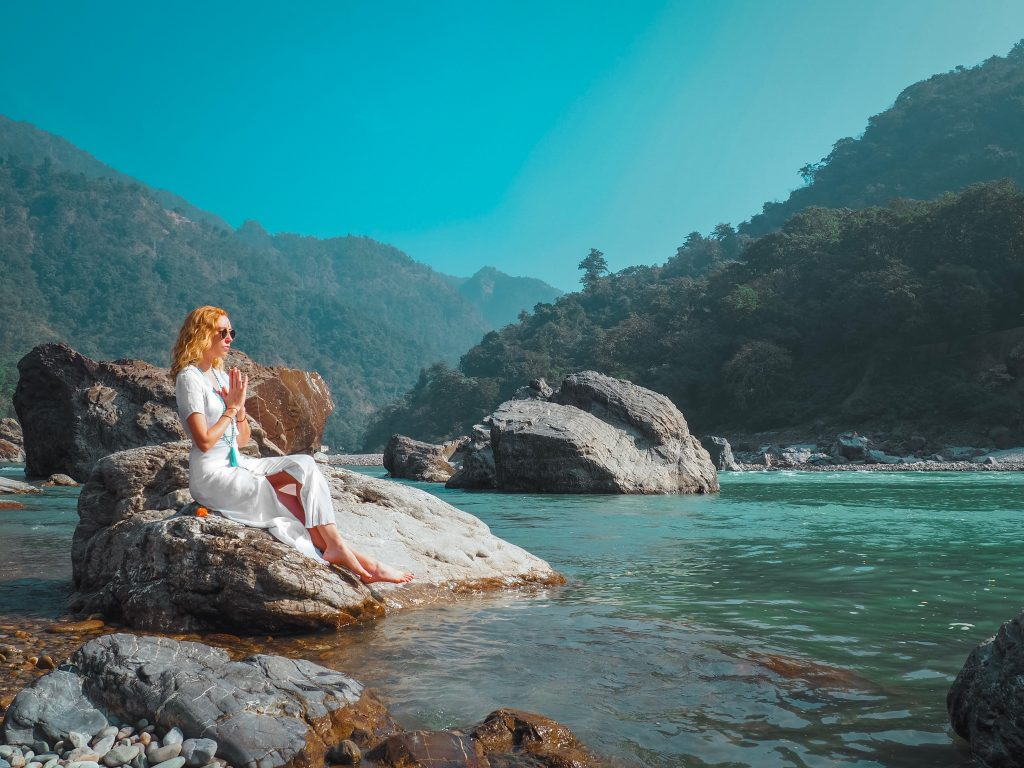 ganges river, prayer