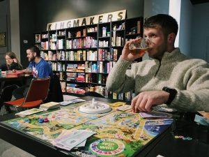 Massachusetts Avenue, Board Game Bar