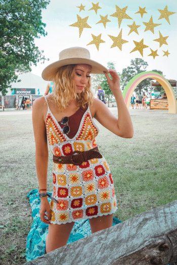 music festival, girl